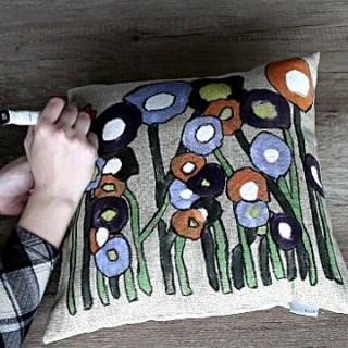 DIY Throw Pillow Decoration