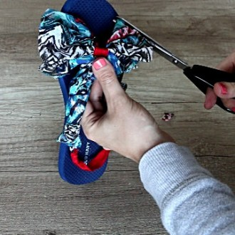 DIY Flip Flops How to Turn Flip Flops into Sandals