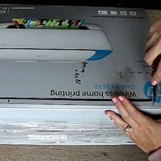 How to Hide a Printer DIY Printer Hideaway