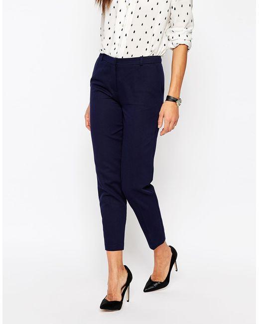 ASOS.com Navy skinny pants 34.00 dollars