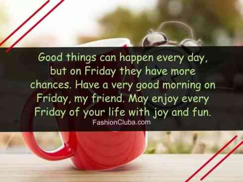 Good Morning Friday Images And Quotes