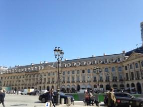 The majestic view of Place Vendôme