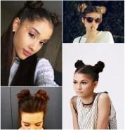 How to rock the trendy double bun hairstyle?