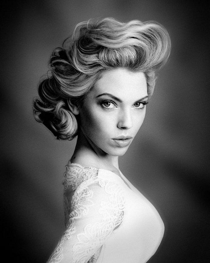 Dreamy And Classic Boxwood Gardens: 30 Dreamy Vintage Hairstyles Inspired By Old Hollywood