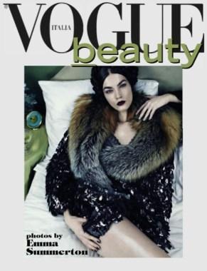 emma summerton vogue italia beauty supplement