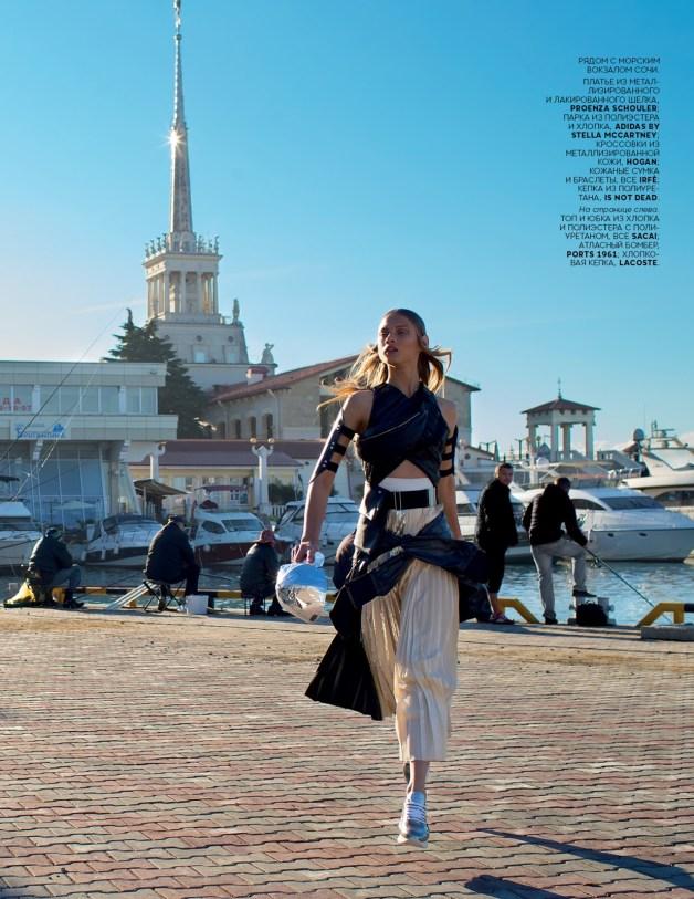 Anna Selezneva By Hans Feurer For Vogue Russia10