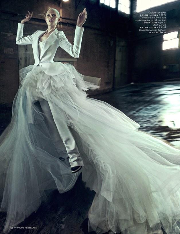 Ola Rudnicka for Vogue Netherlands 9