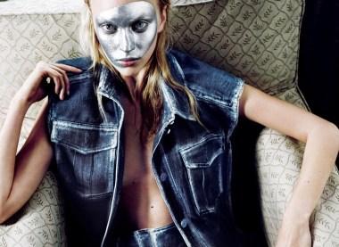 Nick Dorey 'Modern Moods for a Modern Girl' i-D Magazine Summer 2014 15