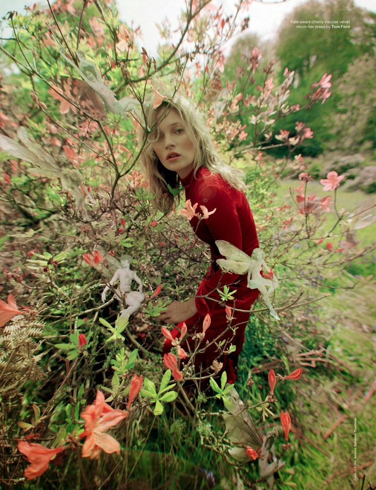 Ford Fusion Colors >> Kate Moss & Edie Campbell in 'Wizard' by Tim Walker for ...