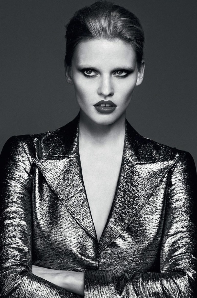 Lara Stone by Erik Torsensson for Industrie #7 18