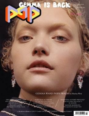 Gemma Ward By Harley Weir For Pop
