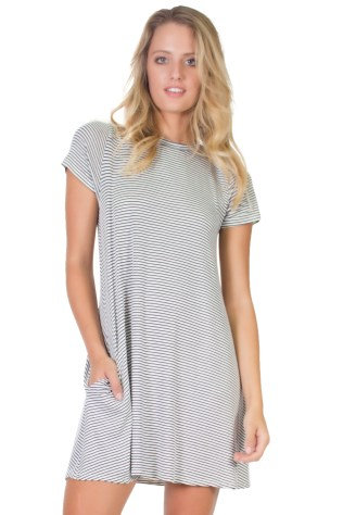 A-line mini dress by Elan. Buy it online at http://Fashion-Crossroads-Inc.shoptiques.com