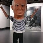 Picasso par Maurizio Catelan
