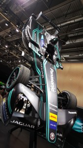 Panasonic Jaguar Racing @ Salon de l'auto Paris