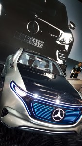 Mercedes EQ Electric @ Salon de l'auto Paris