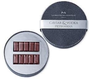 Caviar & Vodka - La Maison du Chocolat x Petrossian