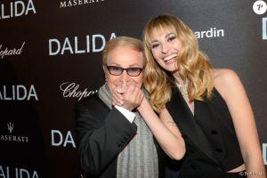 Sveva Alviti et Orlando à l'avant première de Dalida le film @ Olympia Paris
