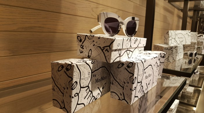 Max Mara, Prism in Motion by Shantell Martin