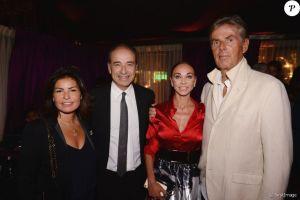 Jean-François Copé et sa femme Nadia, Dominique Desseigne - PDG du groupe Barrière - et sa compagne Alexandra Cardinale