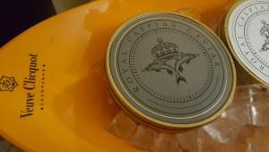 Royal Caspian Caviar - soirée à la Galerie A2Z, Champagne Veuve Clicquot