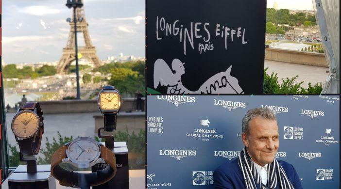 Paris Eiffel Jumping - Conférence de Presse