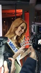 Miss France Maëva Coucke - soirée de révélation de la nouvelle couronne 2019 par Julien D'Orcel