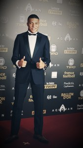 Ballon d'Or 2018 au Grand Palais - Kylian Mbappé