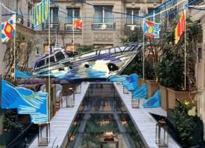 Hôtel le Crillon Paris, terrasse Gabriel, le Yacht Club