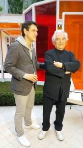 Marc Lavoine et Kamel Mennour