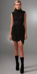 ALEXANDER-WANG-draped-dress-in-black-we-love-on-FDM-www.fashiondailymag.com-by-brigitte-segura