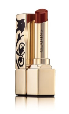 CLARINS-Barocco-rouge-Lipstick-a-GOLDEN-beauty-touch-in-ROUGE-on-FashionDailyMag.com-brigitte-segura
