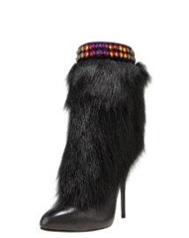 Giuseppe-Zanotti-Jeweled-Fur-Cuff-Boot-www.fashiondailymag.com-Brigitte-Segura