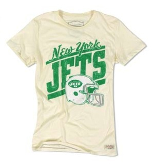 NEW YORK JETS tee for girls loving the playoffs in WHOs team are you on at fashion daily mag
