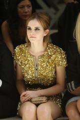 emma watson Burberry: Spring/Summer 2010 - London Fashion Week