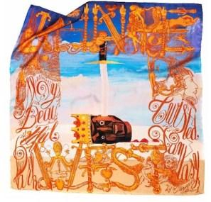 M-x-KANYE-WEST-x-GEORGE-CONDO-power-silk-scarf-photo-courtesy-of-publicist-on-FashionDailyMag.com-brigitte-segura