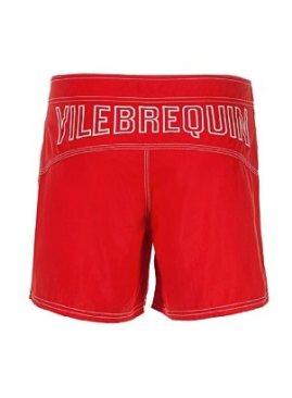 VILEBREQUIN-solid-red-swim-shorts-in-FashionDailyMag-mens-swim-guide-2011-by-brigitte-segura
