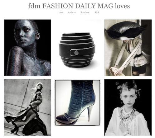 fdm fashiondailymag LOVES black and white