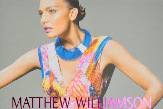 matthew williamson book by rizzoli at yoox on FashionDailyMag