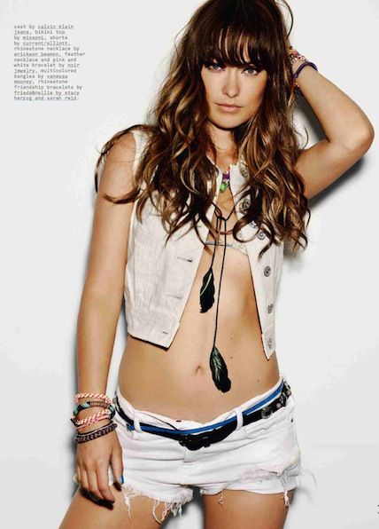 olivia wilde 6 nylon aug 11 issue fashion daily mag brigitte segura