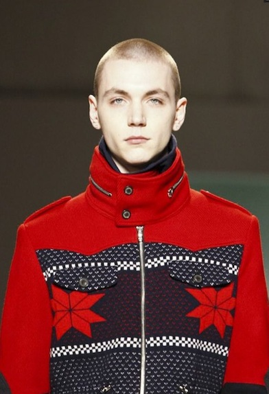yuri at GENERAL IDEA fw11 mens MBFWNY on FashionDailyMag