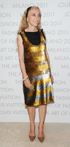 "Louis Vuitton ""The Art Of Fashion"" Exhibition Opening - Milan Fashion Week Womenswear S/S 2012"