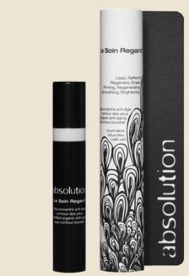 ABSOLUTION beautyABSOLUTION beauty le soin regard eye cream on FashionDailyMag brigitte segura