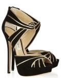 JIMMY CHOO KOKO metallic heels PARIS holiday 2011