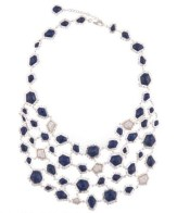 KARA ROSS editorial bib necklace FDM sparkle girlie gift guide