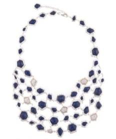 KARA ROSS editorial bib necklace FDM sparkle girlie gift guide