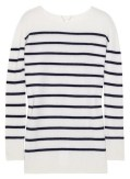 the ROW striped cashmere sweater FashionDailyMag cashmere for the holidays