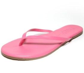 TKEES-pink-flip-flops-FASHIONDAILYMAG-vday-vol-1