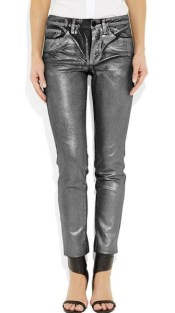 silver coated pants FashionDailyMAG LOVES from NAP and KARL