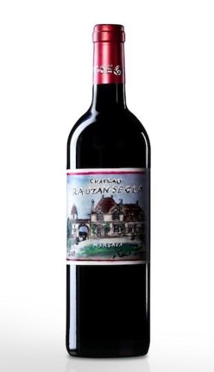 KARL LAGERFELD design Château Rauzan-Segla 2009 wine FashionDailyMag