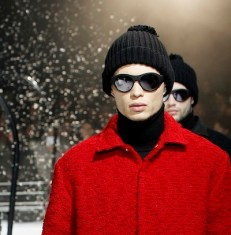 Moncler Gamme Rouge & MYKITA glasses FashionDailyMag sel 5 PFW